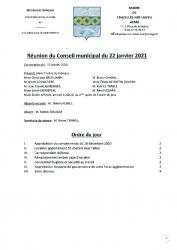 compte-rendu municipal 2021.01.22