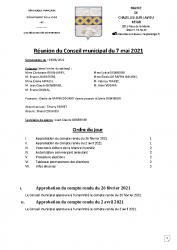 compte-rendu municipal 2021.05.07